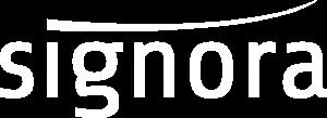 Logo Signora wit